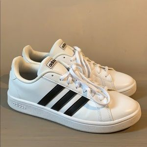 White classic adidas sneakers